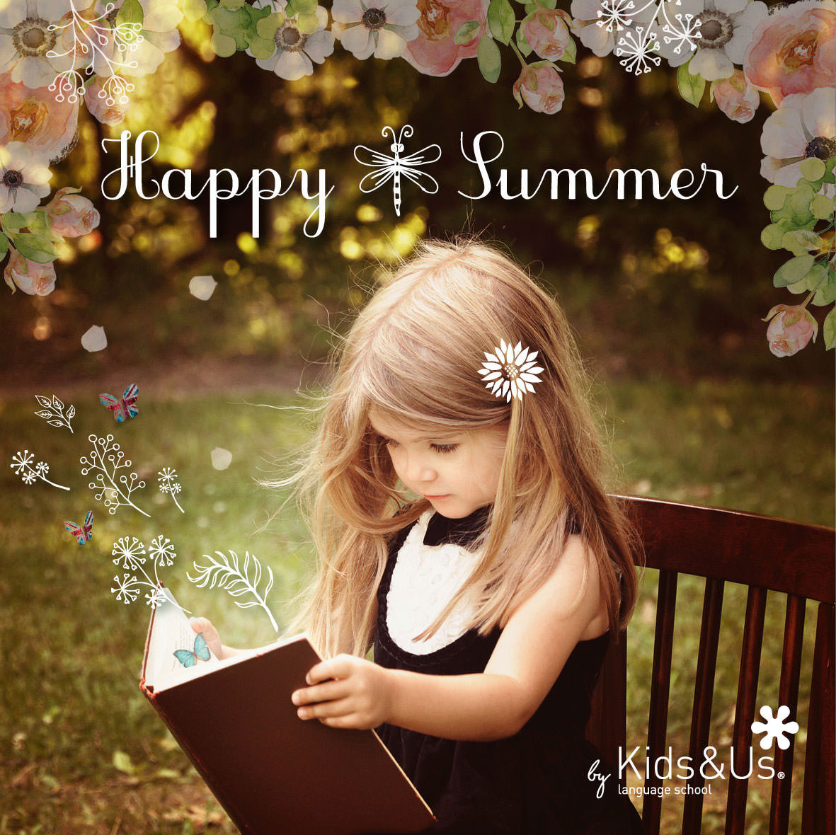 After giving your all throughout the school year, we wish you a Happy Summer!