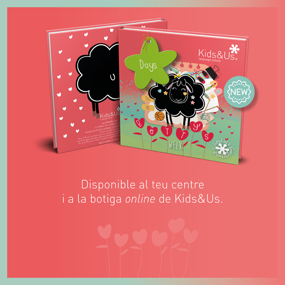 Betty's Week, el nou llibre de la col·lecció Betty the Black Sheep