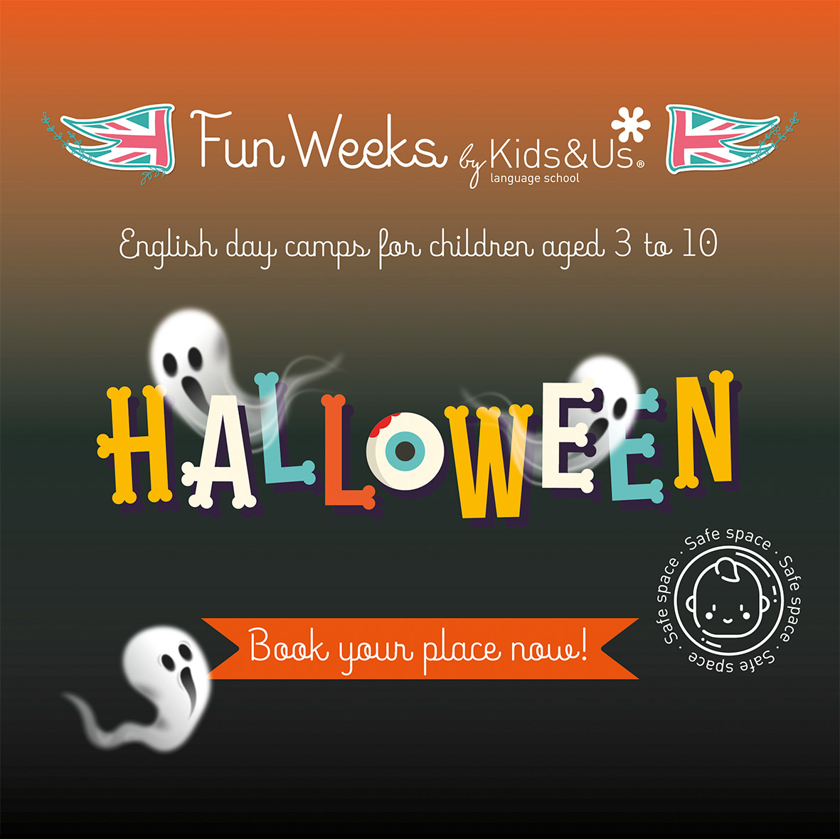 We are getting ready for the Halloween Fun Weeks at Kids&Us schools