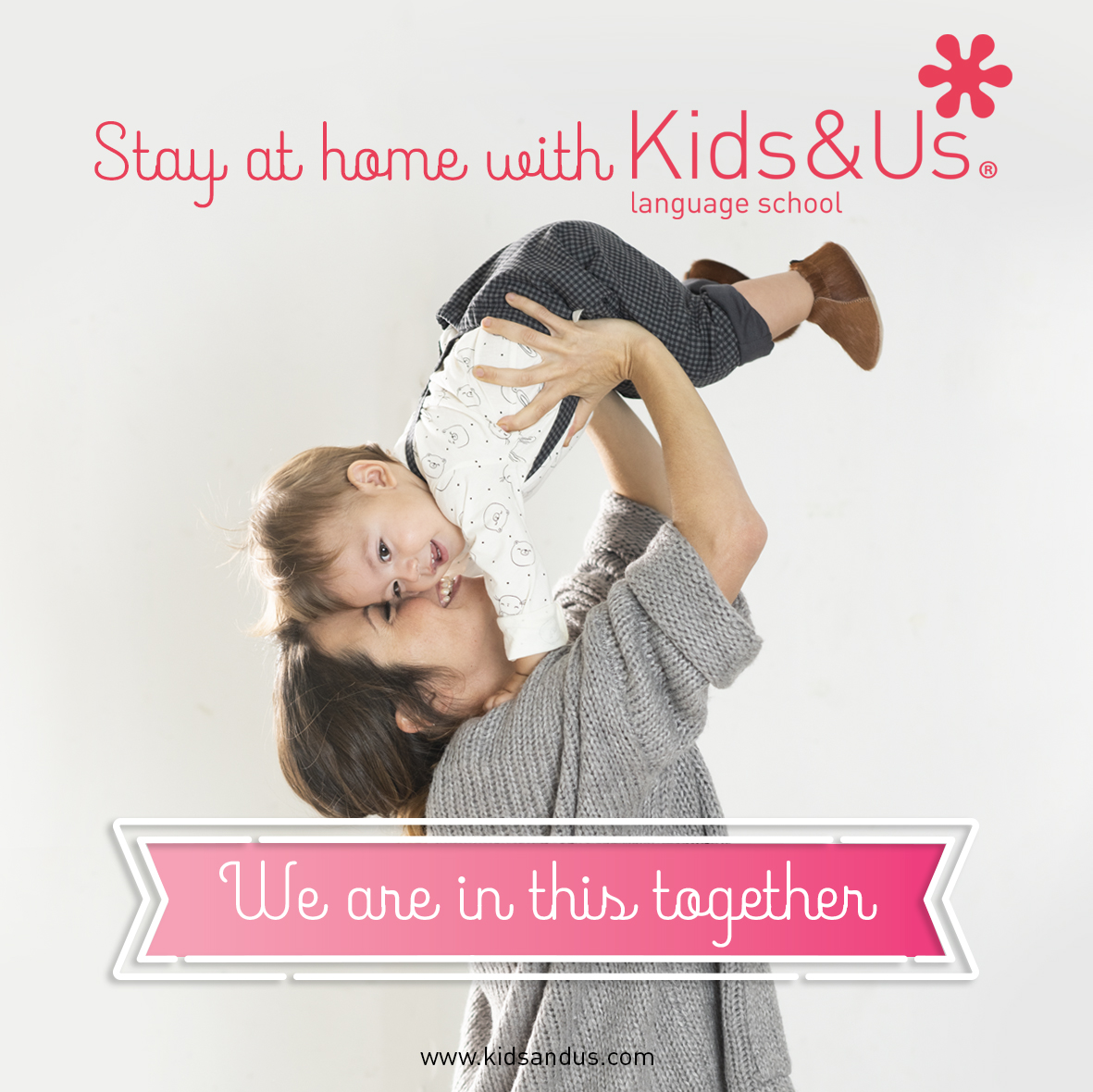 Stay at home with Kids&Us