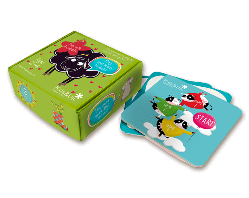 Joc de cartes de la Betty Sheep: Play with Animals