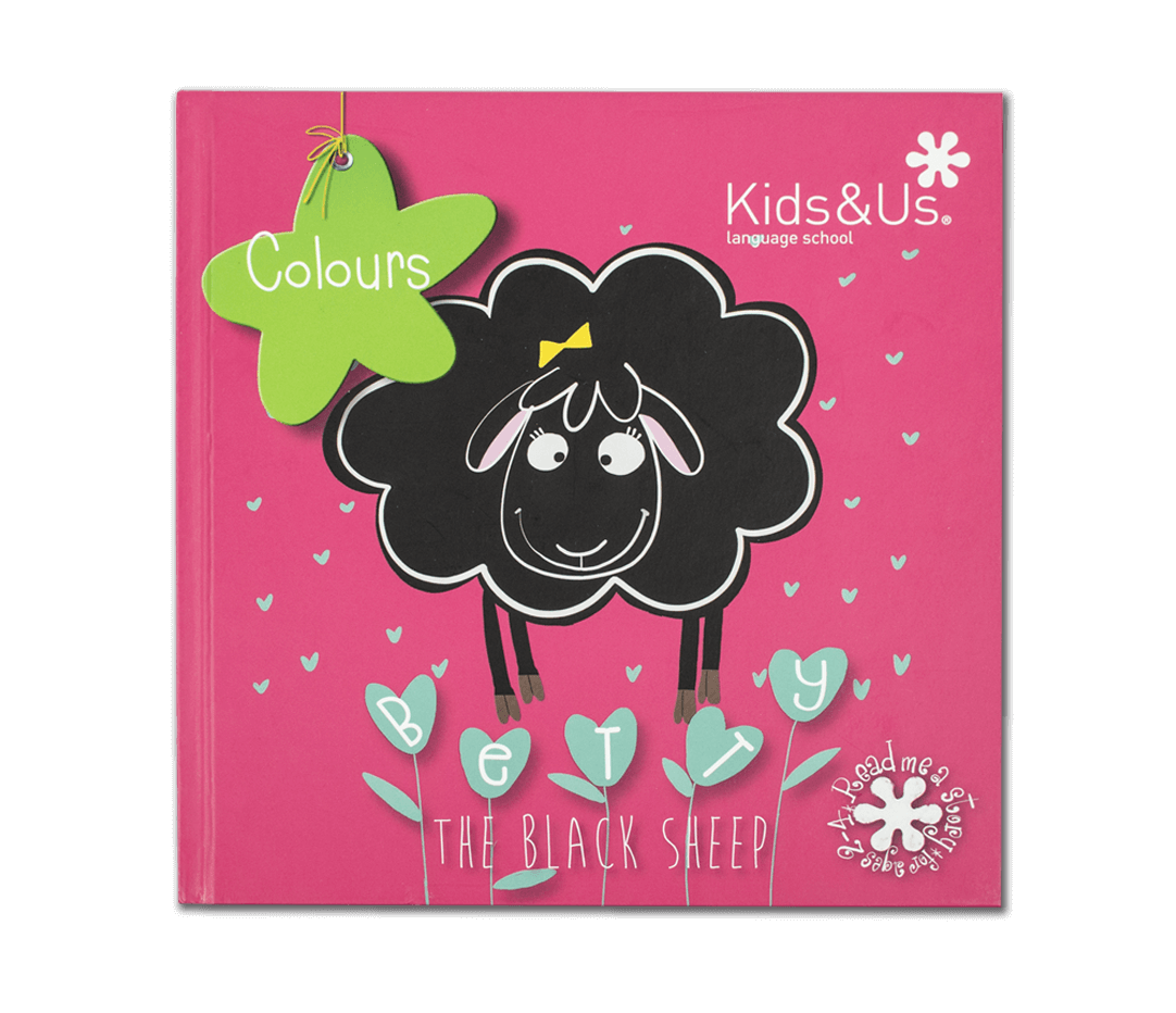 Libro Betty Sheep Colours - Kids&Us - De 2 a 4 años