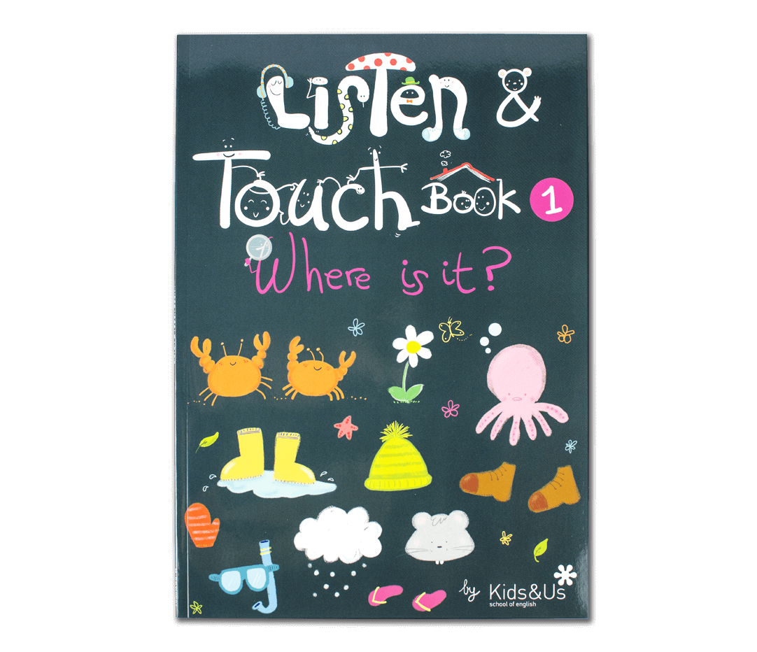 Read the Kids&Us Listen&Touch 1 book