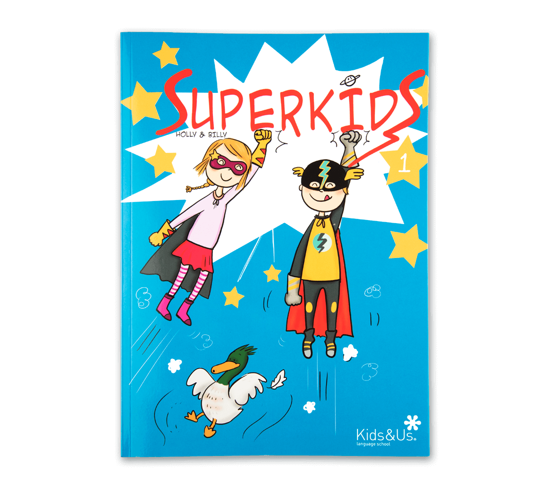 Read the Kids&Us Superkids Comic
