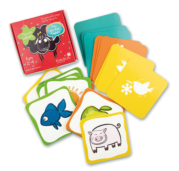 Juego de cartas de Betty Sheep: Play with Colours